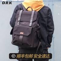 杜尔克 时尚潮流休闲运动大容量韩版背包 d006