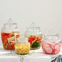 泡菜坛子玻璃加厚大号家用咸菜腌制密封罐