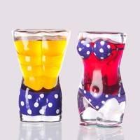 奢典 个性人体艺术酒杯 30ml*2个