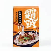 伏牛堂 霸蛮香辣牛杂米粉 湖南特产常德米粉米线粉丝 410.6 g/盒 *3件