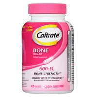 历史低价:Caltrate 钙尔奇 钙+维生素D复合片 120粒 *3件
