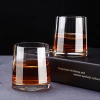 幻彩 水晶玻璃酒杯 2只装 透明款