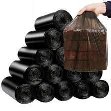 汉世刘家黑色垃圾袋加厚家用宿舍一次性塑料袋大号手提背心式拉圾 券后4.5元