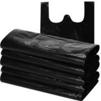 垃圾袋家用加厚手提背心式大号一次性塑料袋批发黑色厨房拉圾袋