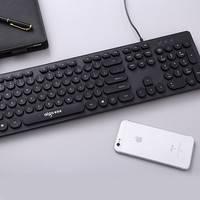 Aigo 爱国者 W916A 朋克风格有线键盘