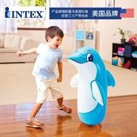 INTEX不倒翁充气玩具宝宝婴儿益智健身锻炼小孩儿童大号拳击玩具