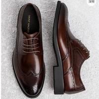 19日0点:SAINT ANGELO 报喜鸟 KTLP33011 男士雕花皮鞋