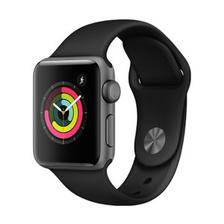 12点 Apple Watch Series 3苹果智能手表(GPS款 38毫米 深空灰色 MTF02CH/A)