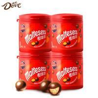 临期品:Dove 德芙 巧克力麦提莎麦丽素 53g*4罐
