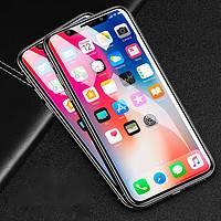闪魔 iPhoneX-XsMax钢化膜 非全屏 2片装 送神器+后膜