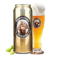 Franziskaner 教士 纯麦白啤酒 500ml*24