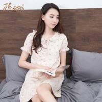 dingguagua 顶瓜瓜 t70436-Q 女士纯棉睡裙