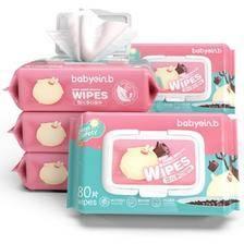怡恩贝 婴儿湿巾纸80抽*5包