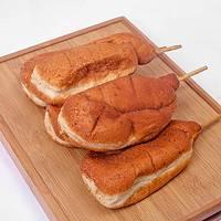 松利 东北老式鸡腿面包 4只装