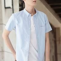 VANCL 凡客诚品 VC-1092142 男士短袖衬衫