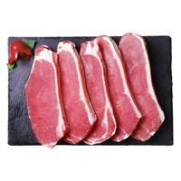 plus会员 伊赛 澳洲西冷牛排套餐 750g/袋 5片装 整切调理 草饲牛肉 健身推荐 *5件