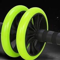 新补货:林旋风 家用 绿精灵小轮 健腹轮