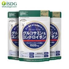 关晓彤代言 日本进口 ISDG 氨糖软骨素钙片 240粒*3袋