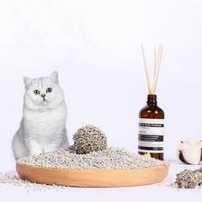 盼斯兔 膨润土结团猫砂20斤