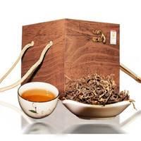 龙问茶叶 2019年滇红茶 木盒装 500g