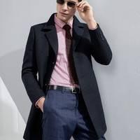 反季特卖:相思鸟 DMGTD075S 男士双面呢大衣