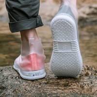彼上 透明雨鞋 L-XXXXL码可选