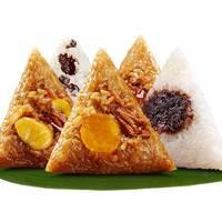 红船 嘉兴粽子 10粽5味 共1000g 送礼盒包装