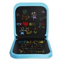 萌宝宝 儿童便携画板 6页 送3色水性粉笔