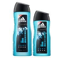 adidas 阿迪达斯 男士冰点沐浴露 400ml+250ml + 浴球