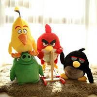 ANGRY BIRDS 愤怒的小鸟 毛绒玩具 12寸