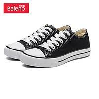 Baleno 班尼路 经典复古情侣帆布鞋