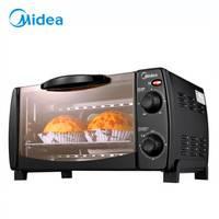 Midea 美的 T1-L101B 迷你电烤箱 10L
