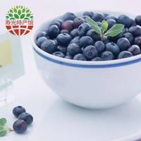 蓝莓鲜果盒装水果新鲜水果大果中果基地直发 500g  中果