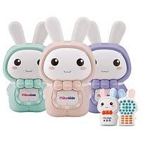 米宝兔儿童故事机 0-3-6岁宝宝胎教玩具英语音乐播放器婴儿早教机