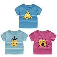 乖米柯 儿童短袖T恤3件装